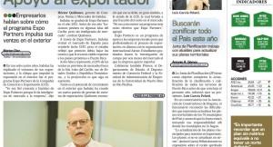 EXPO PARTNERS IMPULSA LAS VENTAS DE INDULAC EN EL EXTERIOR
